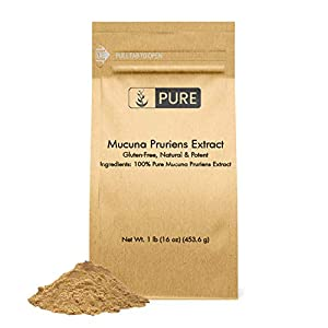 Gut Health Shop 418BmnuH1tL._SS300_ Mucuna Pruriens Extract (1 lb) 100% Pure & Natural, Non-GMO & Gluten-Free, Eco-Friendly Packaging (500 mg Serving)