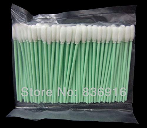 Printer Parts 3000 pcs Small Foam Cleaning Swabs for Canon Yoton for Eps0n Printer Cleaning Swabs Swab (in Stock)