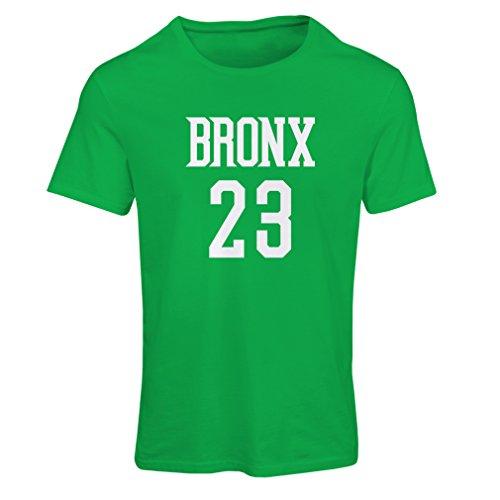 Bronx Vert 23 Blanc Lepni Femme Style me Rue T Mode shirt xwSz1qB