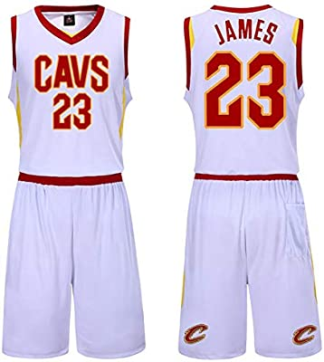 newest a7059 e256a NBA Cleveland Cavaliers Lebron Raymone James #23 Men's ...