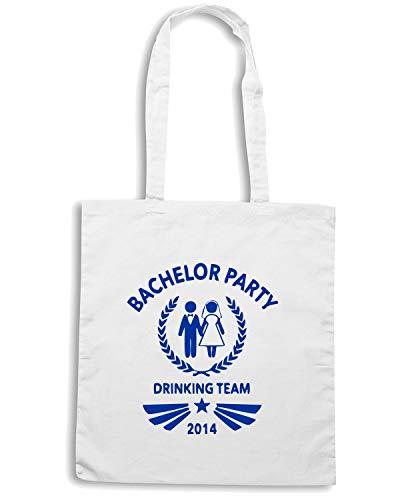 PARTY Bianca Speed 2014 BACHELOR MAT0004 Borsa TEAM Shirt Shopper qqtFvwY