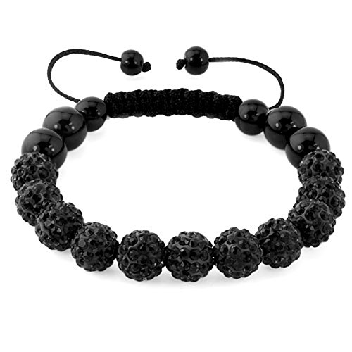 CharmSStory Shamballa Bracelet Inspired Adjustable