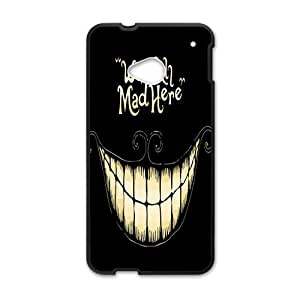 Happy Were all mad here Phone Case for HTC One M7
