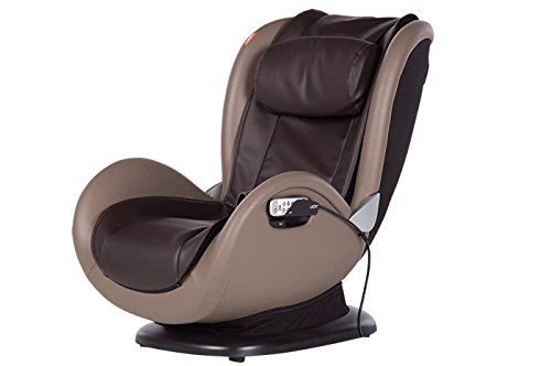Human Touch iJOY 4.0 Reclining Massage Chair, 4 Programmed Massage Modes, Espresso/Gray