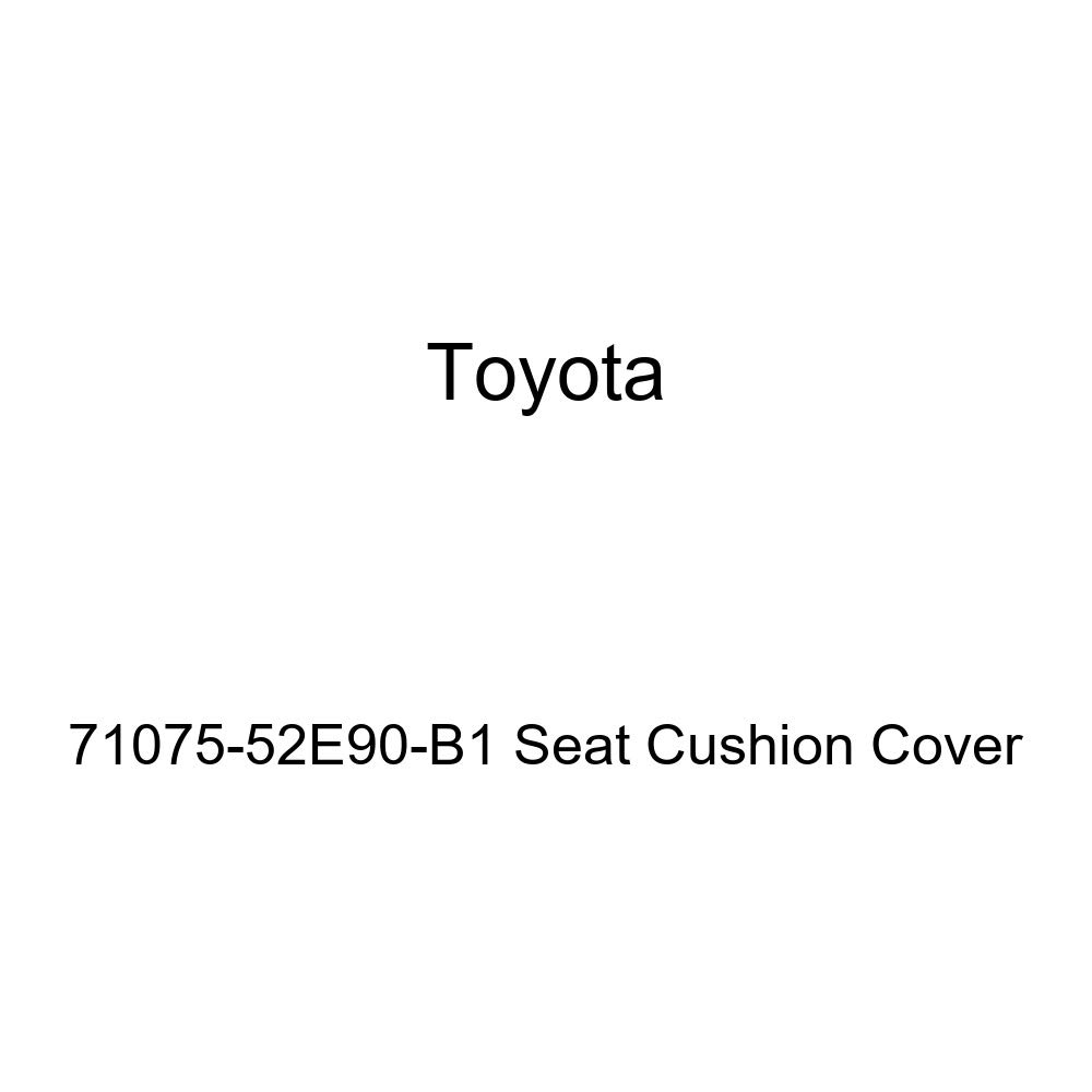 TOYOTA Genuine 71075-52E90-B1 Seat Cushion Cover