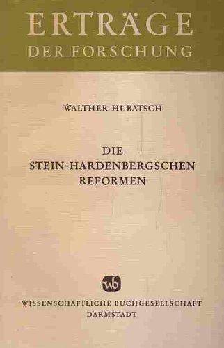 Die Stein-Hardenbergschen Reformen