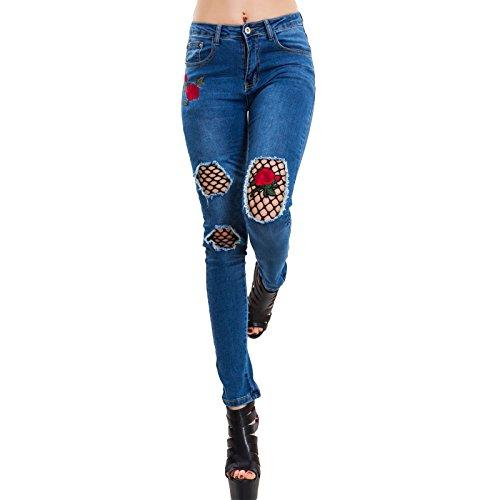 bleu Toocool Bleu 36 Jeans Femme A105 tqxwafZq