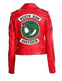 Fashions Maniac Riverdale Cole Sprouse Jughead Jones Women Faux Leather Jacket