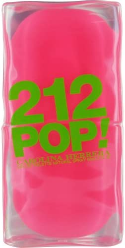 Carolina Herrera 212 Pop Mujeres Eau De Toilette Spray 600 ml 1er Pack (1 x 60 ml): Amazon.es: Belleza