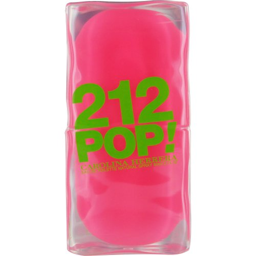 CAROLINA HERRERA 212 Pop Eau De Toilette Spray for Women, 2 (Apple Deodorant Eau De Toilette)