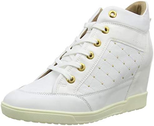 bala pedir disculpas Tulipanes  Geox D Carum C, Women's Fashion Wedge Heel Shoes, White, 39 EU: Buy Online  at Best Price in UAE - Amazon.ae