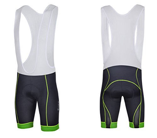 Sponeed Men's Cycle Shorts Tights Bicycle Bike Padded Short Bibs Pants Size Asia L/ US M Multi price