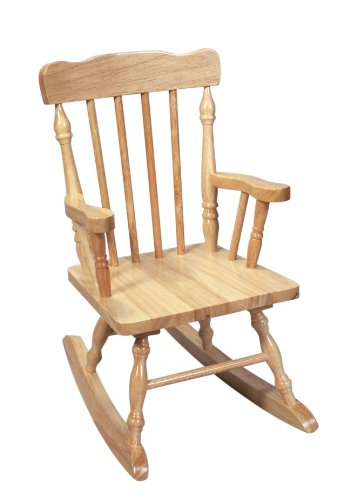 Rocking Chair Natural (Gift Mark Child's Colonial Rocking Chair, Natural)