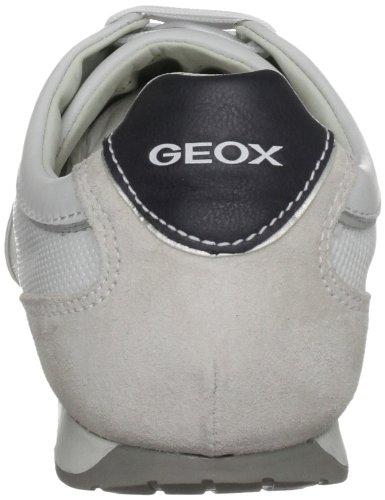 Geox - Sneaker U ANDREA P, Uomo, Bianco (White), 45 (10.5 uk)