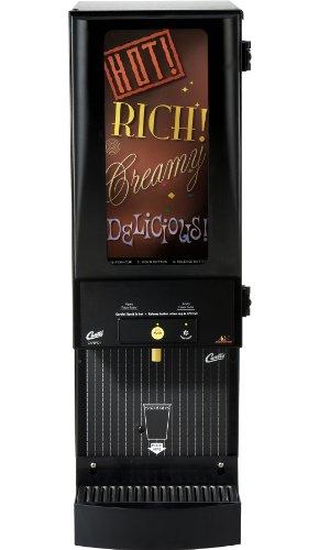 Wilbur Curtis Café Primo Cappuccino with Lightbox 1 Station Cappuccino (7 Lb Hopper) - Commercial Cappuccino Machine - CAFEPC1CL10000 (Each) by Wilbur Curtis