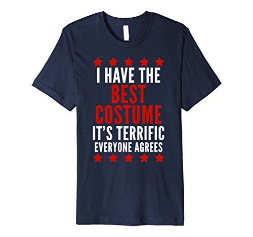 Halloween Costume Ideas For Two Best Friends (Mens I Have The Best Costume Shirt Funny Trump Halloween Tee Large Navy)