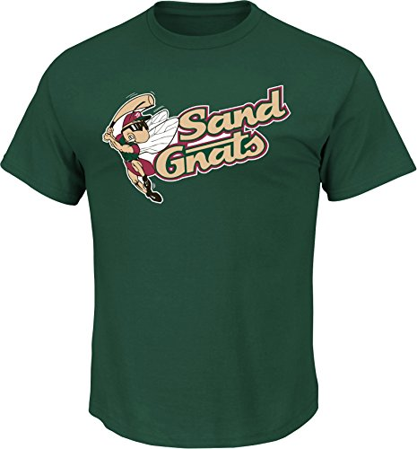 Minor League Baseball Savannah Sand Gnats T-Shirt Style Jersey (Adult - Savannah Outlet