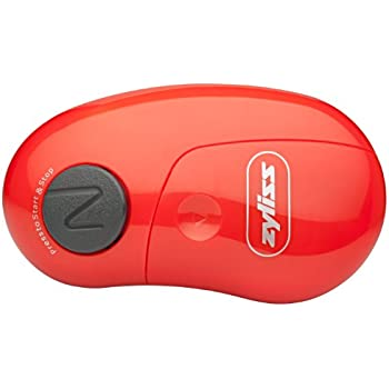 Amazon Com Zyliss Easican Electric Can Opener Red