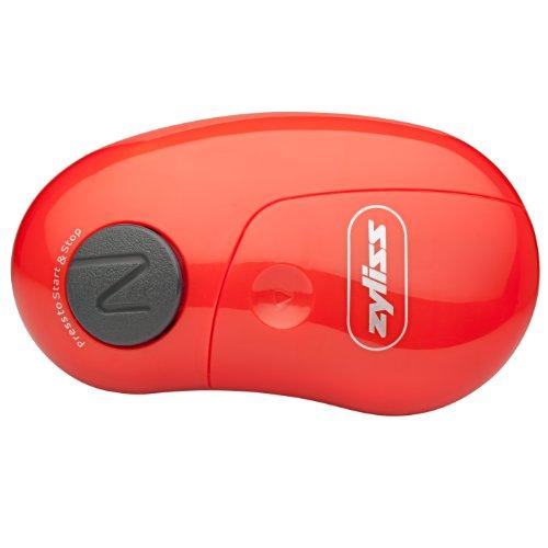 Abrelatas eléctrico EasiCan de ZYLISS, rojo