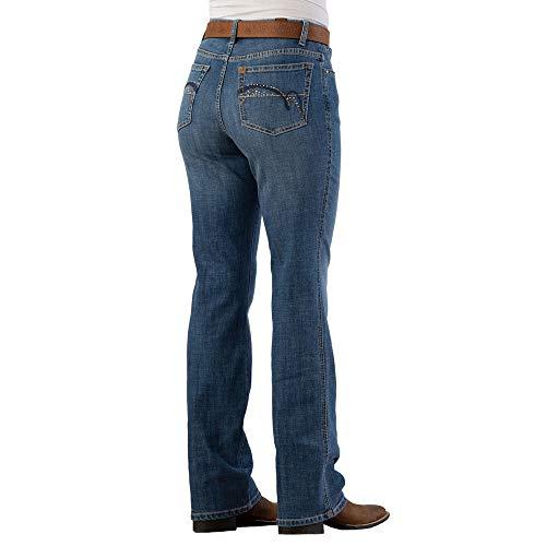 Wrangler Aura Instantly Slimming Madrid Jeans 12 x 34 Denim - Instantly Aura Slimming Jeans