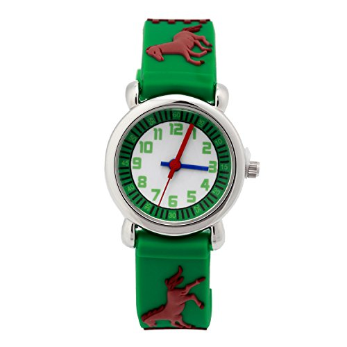 Kids Children Learn time Teacher Watch Horse 3D Cartoon for sale  Delivered anywhere in USA