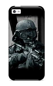 premium Phone Case For Iphone 5c/ Soldier Tpu Case Cover