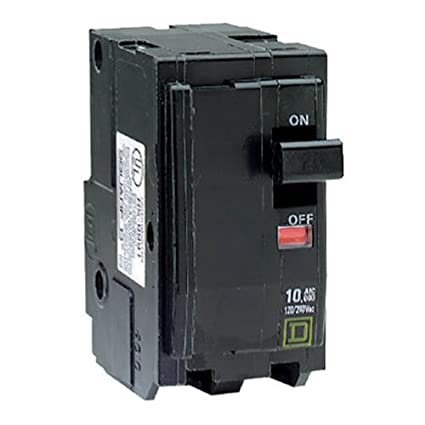 Square D By Schneider Electric QO250CP QO 50 Amp Two Pole Circuit Breaker