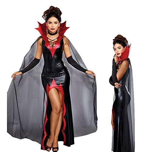Mujer Vampiro Fiesta Disfraces Vestido De Para Negro Disfraz Ambiguity Navidad Pack Bruja Halloween Diablo qtzFtS7