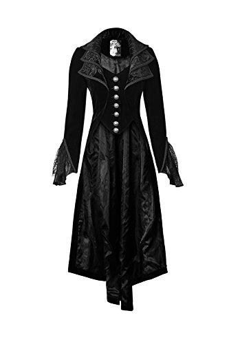 long black pirate dress - 2