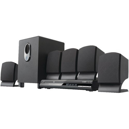 5.1-Channel DVD Home Theater System - COBY by Coby