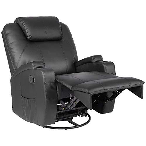 StoreDX Manumotive Massage Recliner Sofa Chair with Cup (Simulated Leather Living Room)