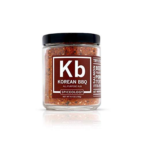 Korean BBQ - Spiceology Korean BBQ Seasoning - All Purpose Korean BBQ Seasoning - 4.4 oz