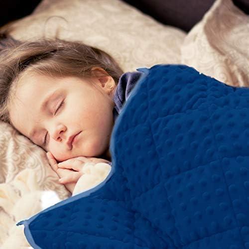 MAXTID Couverture lest/ée pour Enfants Rose 3lbs 36inx48in Couverture Lourde pour Dormir Confort Sensorieux Couverture pour Filles