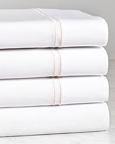 Notte by Bellino Percale Sheet Set, Queen ()