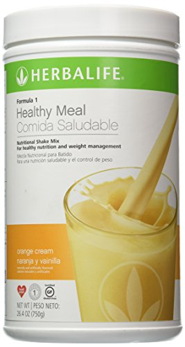Formula Mix Shake 1 - Herbalife Formula 1 Nutritional Shake Mix - Orange Cream  26.4 oz