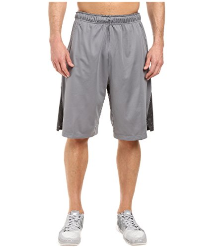 New Nike Men's Hyperspeed Knit Shorts Tumbled Cool Grey/Anthracite/Black XX-Large