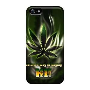 LJF phone case Iphone 5/5s Case Bumper Tpu Skin Cover For Mary Jane Accessories