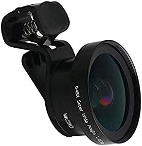Smartphone HD camera Lens 0.45X Super Wide angle 12.5X Macro Lens for Mobile Phone