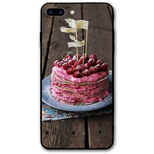 iPhone 7/8 Plus (5.5inch), Custom Design Rubber Case Compatible iPhone 7/8 Plus Swedish Pancake -