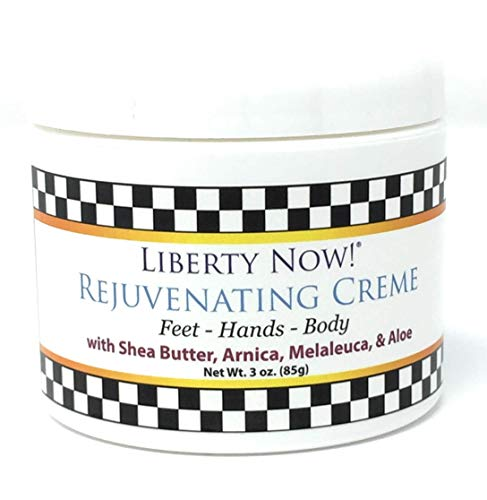 Liberty Now Rejuvenating Creme – Foot Cream, Body Cream, Hand Lotion – with Shea Butter, Arnica, Melaleuca Tea Tree Oil , Aloe