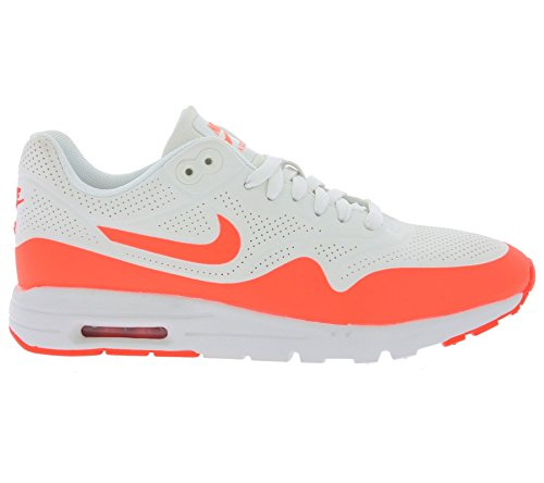 Nike Womens Air Max 1 Ultra Moire Bianco / Cremisi 704995-103 (misura: 8.5)