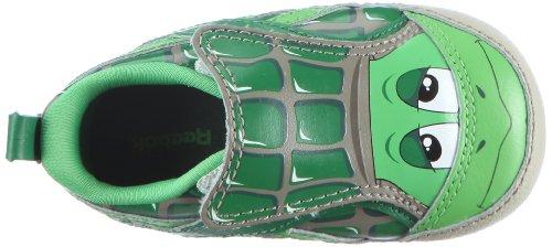 Reebok ULTRA VERSAFLEX CRIB II - Zapatillas de cuero niño verde - Grün (GREEN/CEMENT/NUTMEG/)
