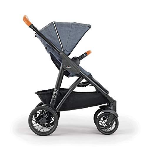 418ByaBDN6L - Chicco Corso LE Modular Quick-Fold Stroller - Studio