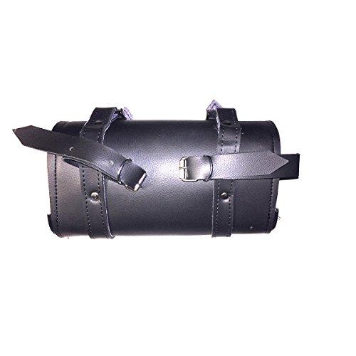 Motorcycle Tool Black Bag Quick Release Buckle Reinforced for Handlebar Fork