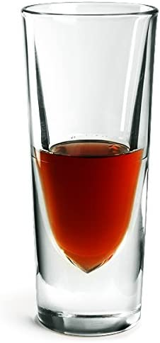 6 unit/à Borgonovo 2977300 Rocky Confezione 6 Bicchieri in Vetro con Rigo