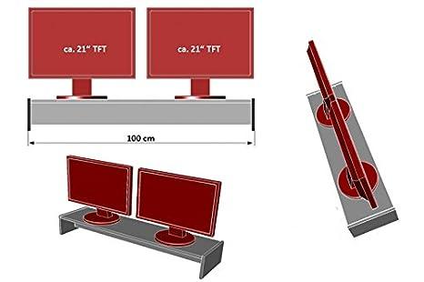 XXL Monitor Soporte para 2 pantallas: Amazon.es: Juguetes y juegos