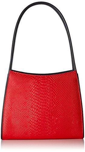 E A Donna Lola 9x29x25 Ramona Shopper Cm Yvette Tracolla Borse rosso bxht Rosso XBBatqw