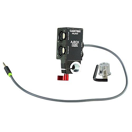 CAMTREE Hunt BMPCC A-Box Professional Grade Audio Recording Equipment for Blackmagic Pocket Cinema Camera BMPCC/BMMCC/BMMSC | Compatible with 15mm/19mm Rail Mount (CH-ABOX-BMPC)