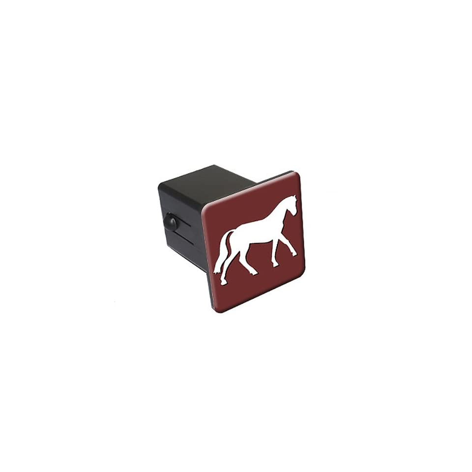 Horse   2 Tow Trailer Hitch Cover Plug Insert Truck Pickup RV