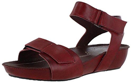 Sanita - Sandalias de vestir para mujer multicolor - rojo
